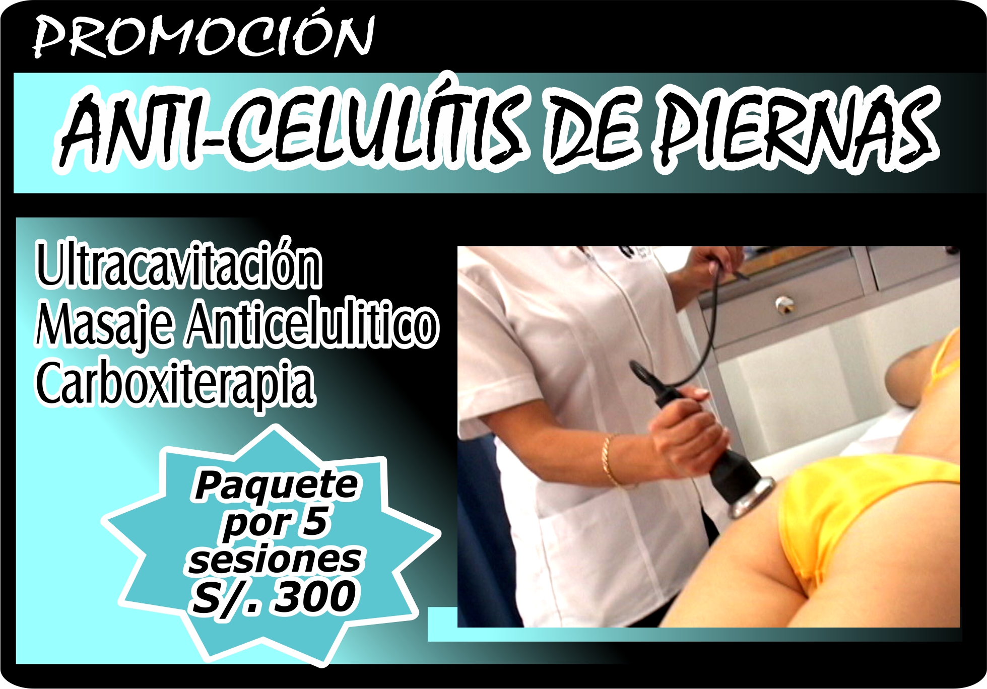 Anti Celulitis piernas