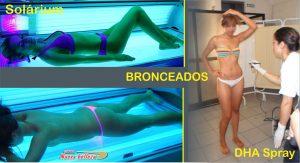 Bronceados Solárium y Spray DHA