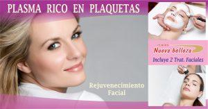 Rejuvenecimiento Facial con Plaquetas PRP