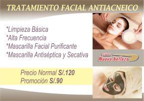 Tratamiento Facial Antiacneico