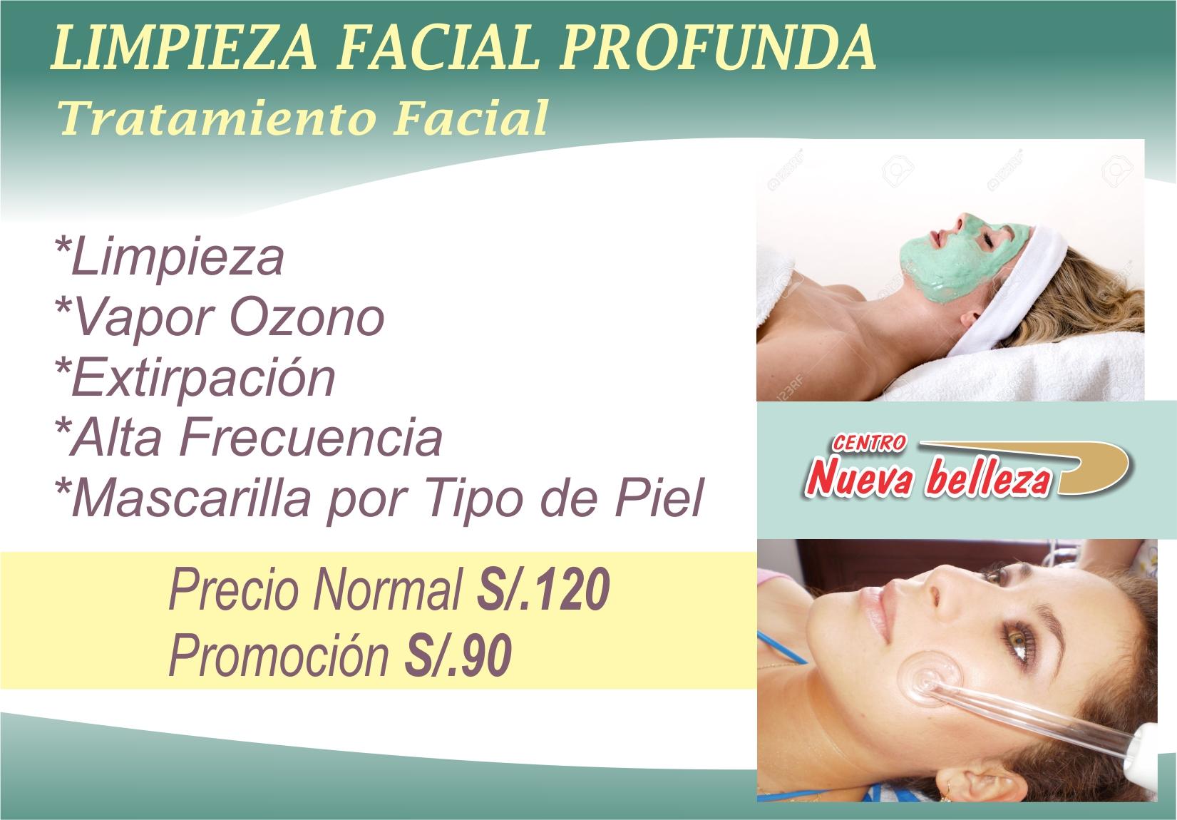 Limpieza Facial Profunda 1