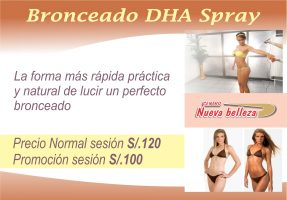 Bronceado DHA Spray