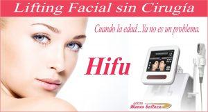 HIFU - Lifting Facial sin Cirugía